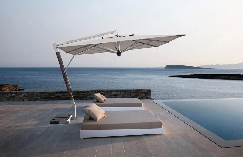 aluminium garden parasol | GLOBAL TRADE PROMOTION